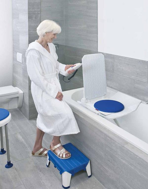 Sollevatore vasca da bagno per disabili e anziani - Supporto per vasca da bagno ...